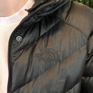 The North Face puffer coat